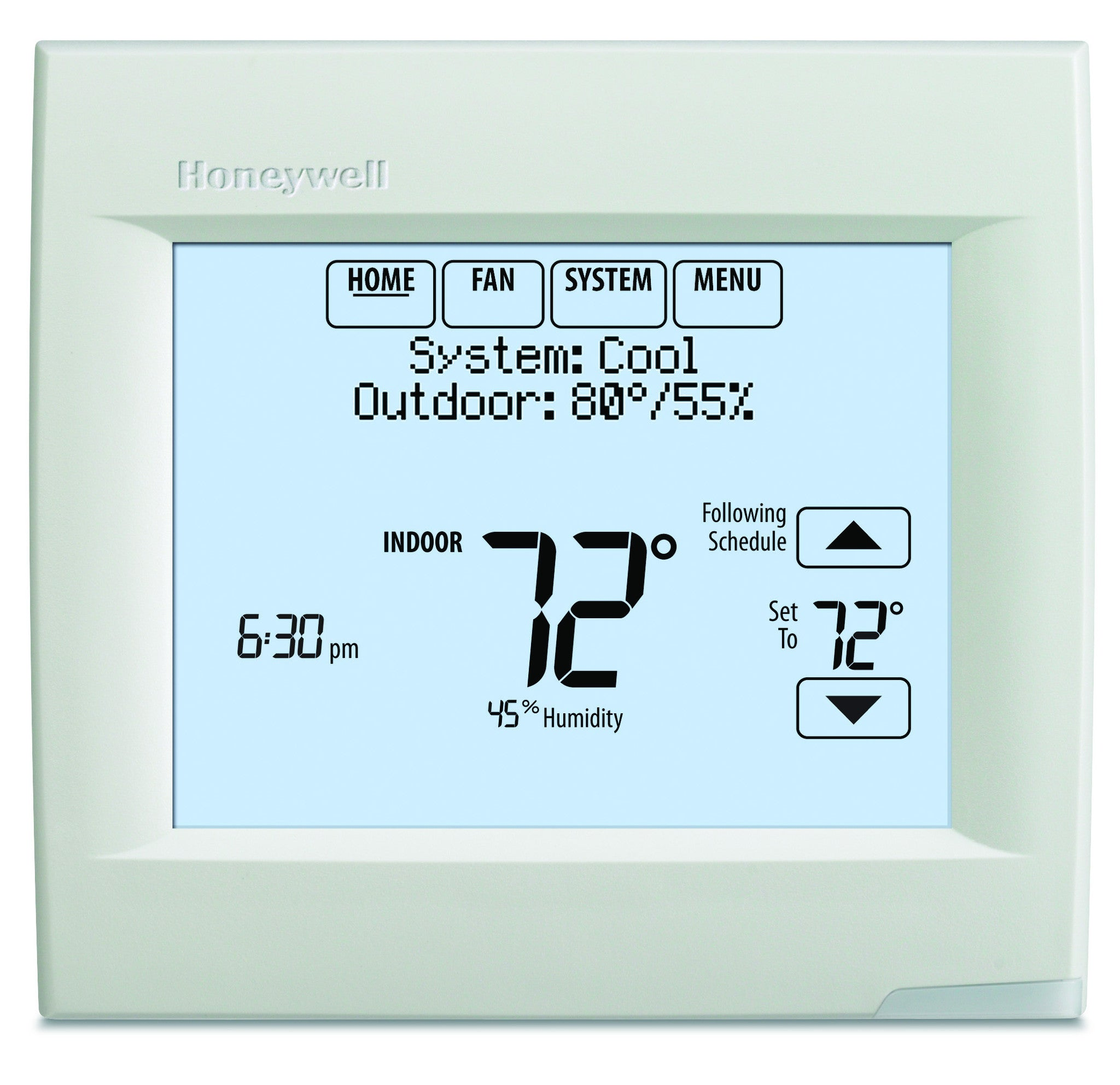 Honeywell TH8320R1003  VisionPRO 8000 w/ RedLINK Technology, Programmable, 3H/2C, Touchscreen  Thermostat