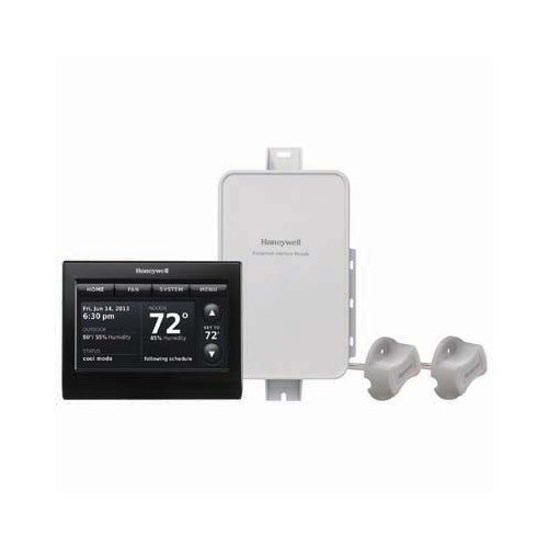 Honeywell YTHX9421R5085BB  Prestige IAQ Kit with RedLINK Technology (Includes Black Thermostat, EIM & 2 Duct Sensors)