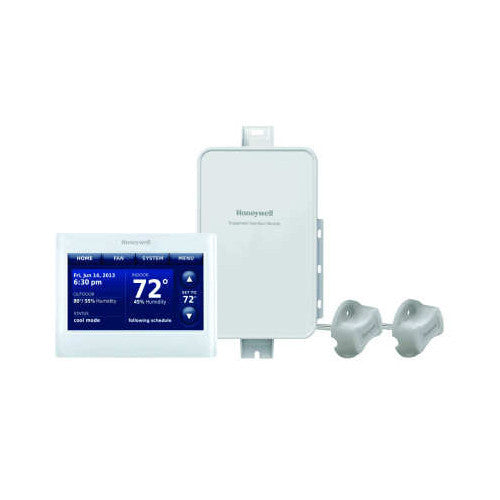 Honeywell YTHX9421R5085WG  Prestige IAQ Kit with RedLINK Technology (Includes White Gray Thermostat, EIM & 2 Duct Sensors)