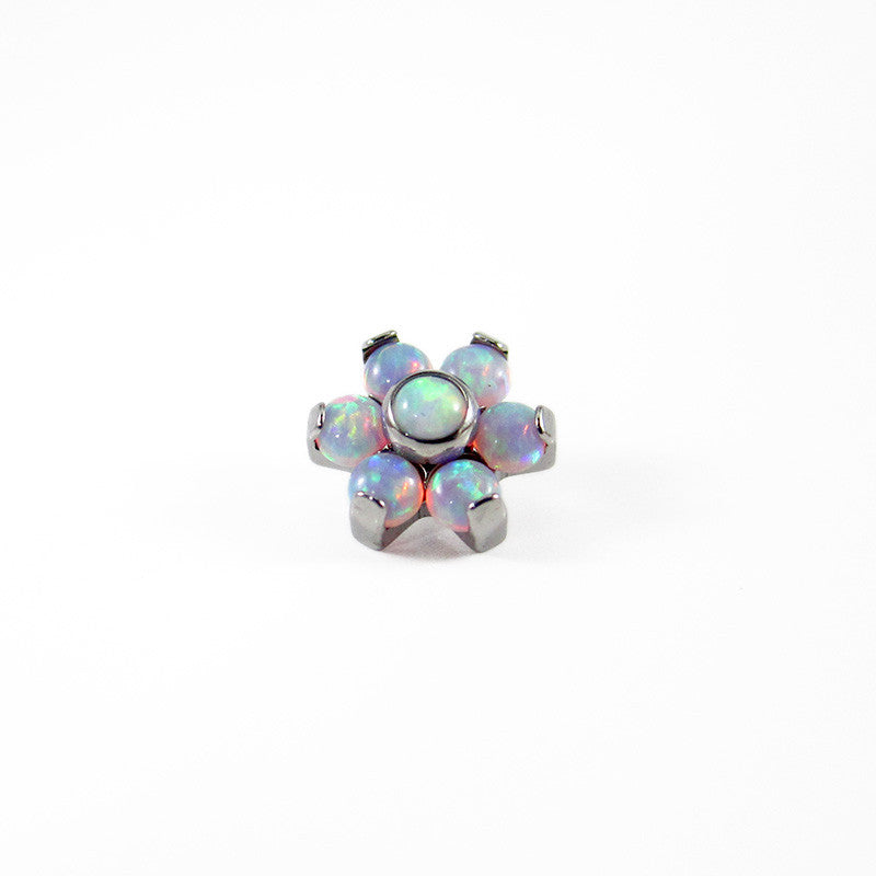 Titanium Opal Flower Attachment
