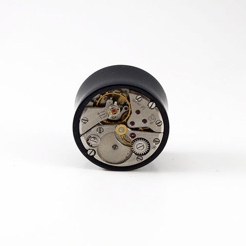 24mm Gabon Ebony Wood Watch Movement Plug (Single)