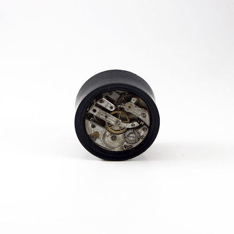29mm Gabon Ebony Wood Watch Movement Plug (Single)