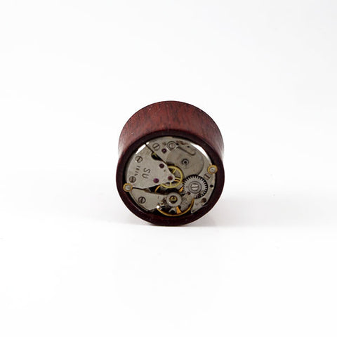 21mm Bloodwood Watch Movement Plug (Single)