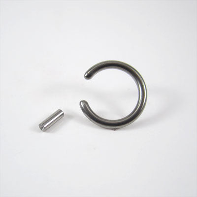 Titanium Bar Closure Ring