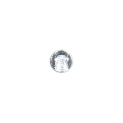 Clear Acrylic Threaded Micro Ball