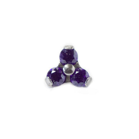 Cubic Zirconia Trio attachments