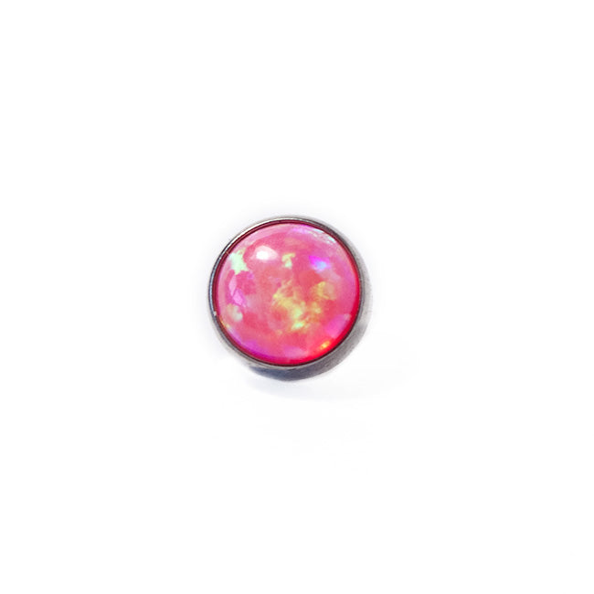 Hot Pink Opal Flat Attachment - The Pinchy Collection