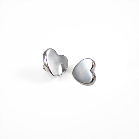 Titanium Heart Shaped Threaded Attachment