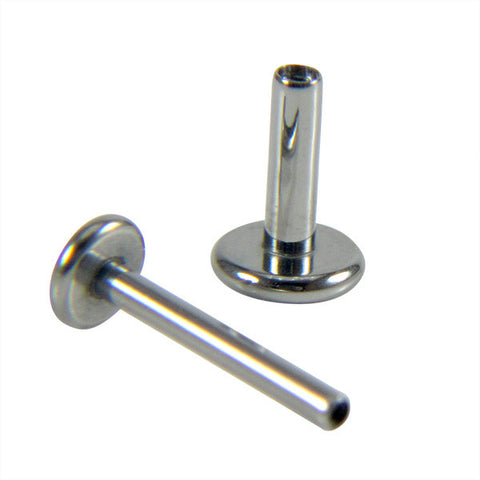 Titanium Internally Threaded Labret Post