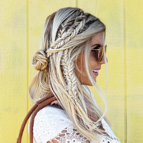 It's the season that inspires bohemian style and lots of braided hair