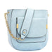 Jovie Front Pocket Shoulder Bag Sky Blue Handbag