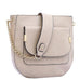 Jovie Front Pocket Shoulder Bag Beige Handbag