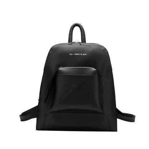 Melie Bianco Joelle All I Need Is Wifi Back Pack - Black
