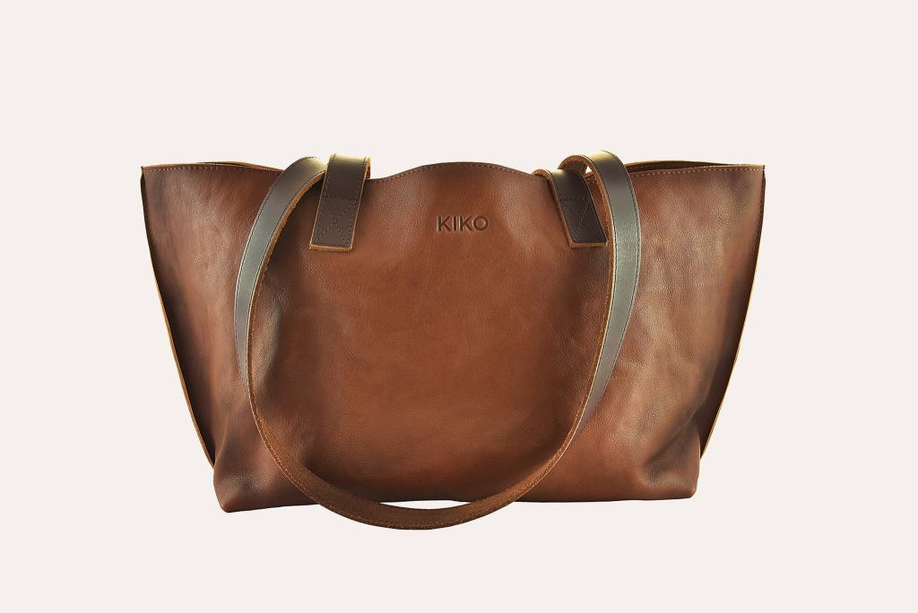 Genuine Leather Perfect Tote Brown Tote