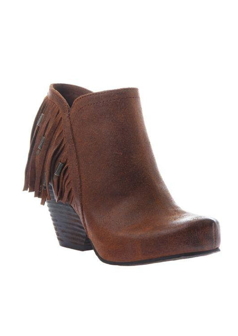Otbt Western Folkloric Bootie 6 / New Tan Boots