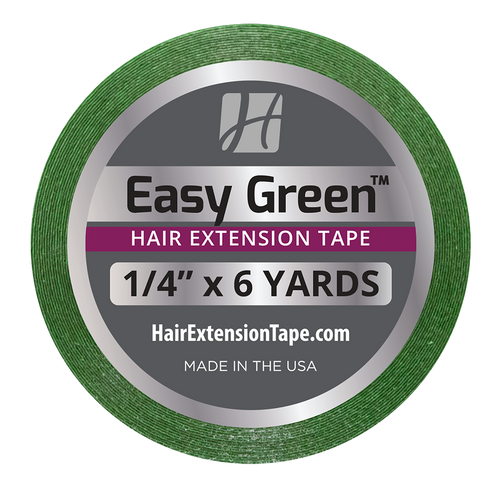 Easy Green Hair Extension Tape Rolls