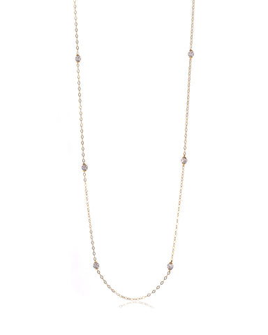 Tiara Crystal Necklace