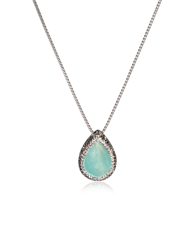 Tear Gem Solo Necklace