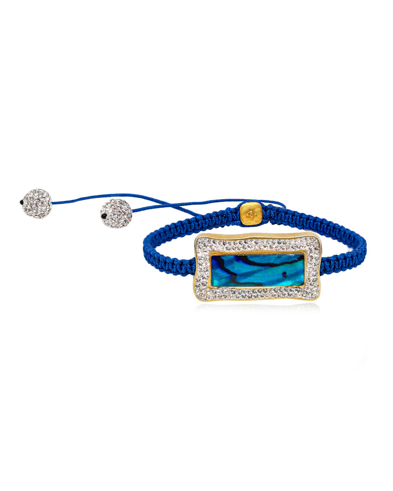 Halo Rectangle Gem Shamballa
