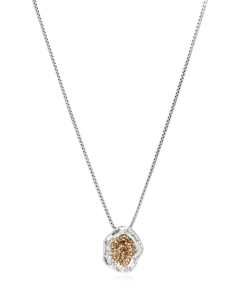 Dainty Geode Necklace