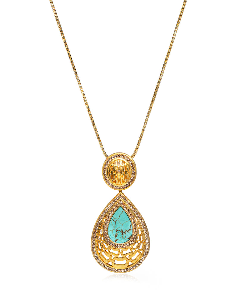 Vogue Gem Necklace