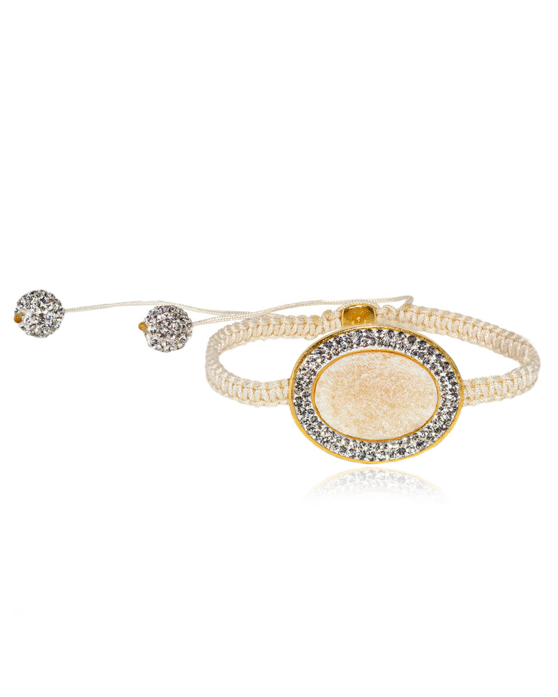 Halo Oval Gem Grand Shamballa