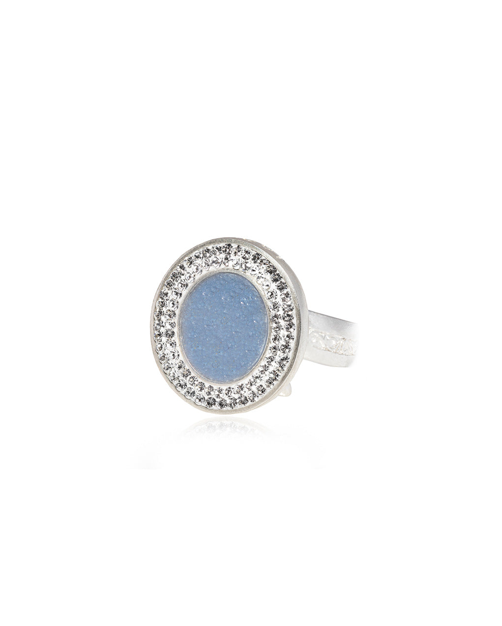 Dainty Oval Gem Ring