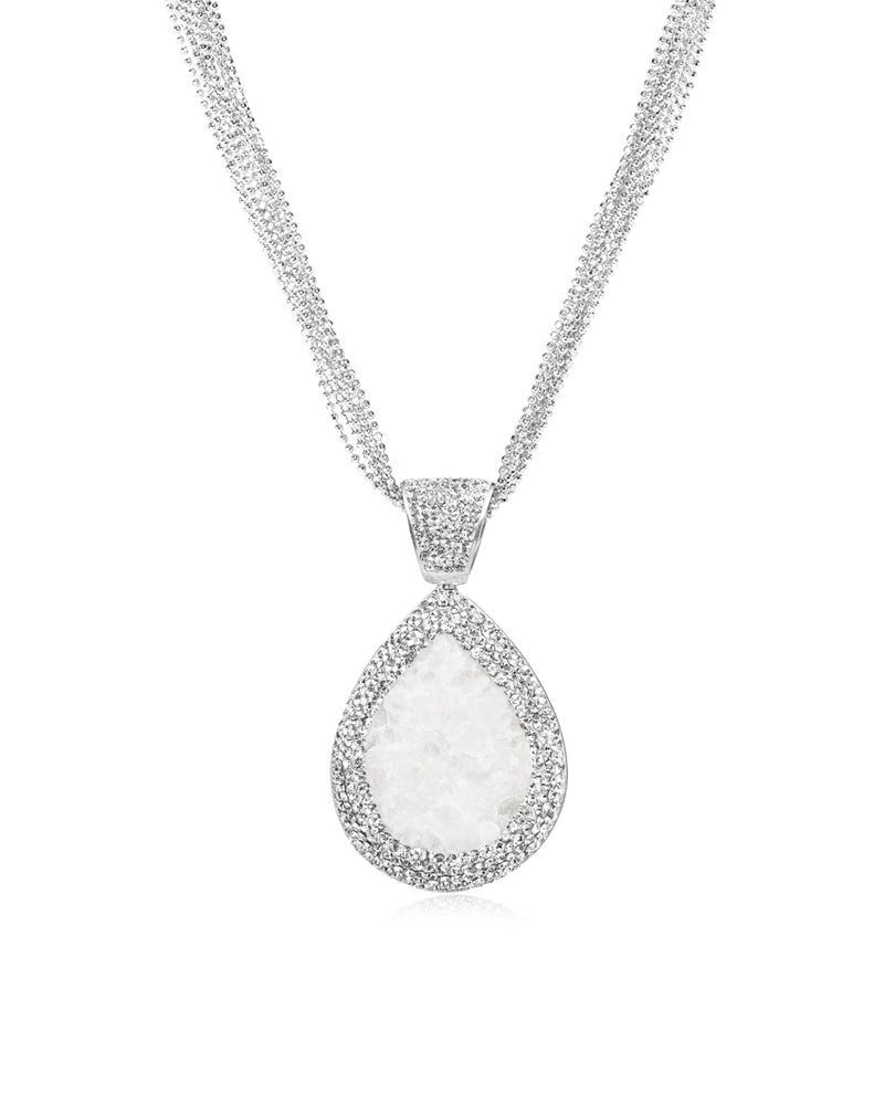 Royal Signature Tear Necklace