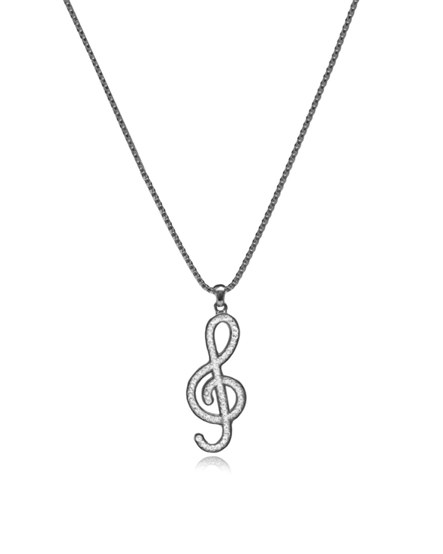 Music Rock Necklace