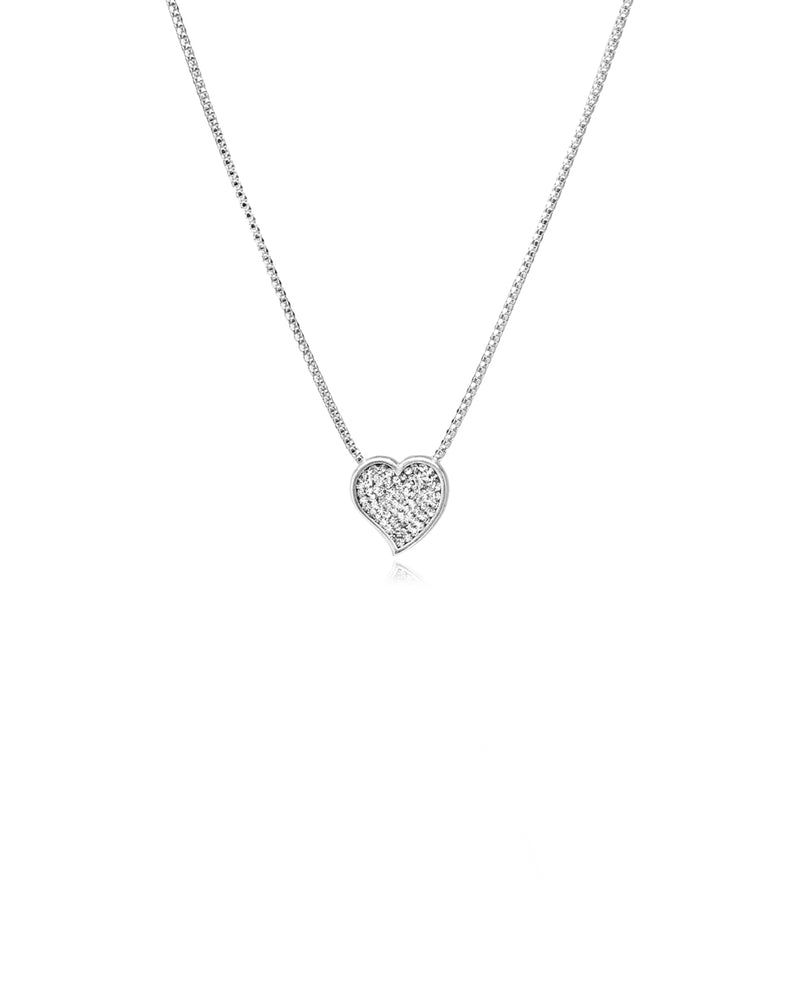 Love Rules Heart Necklace