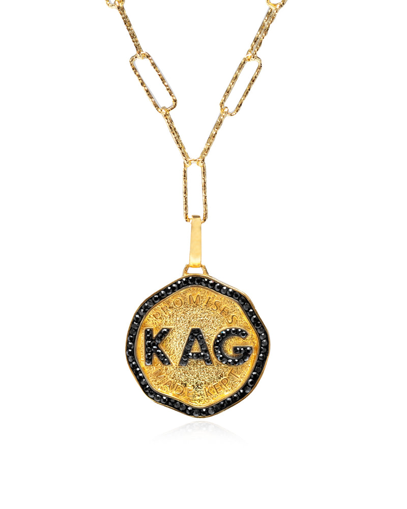 Keep America Great Medallion Necklace