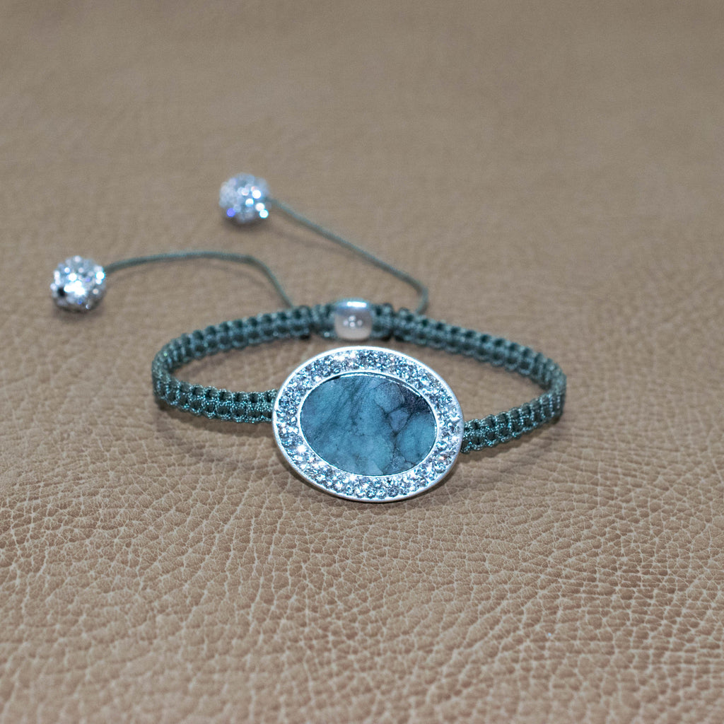 Halo Oval Gem Grand Shamballa B