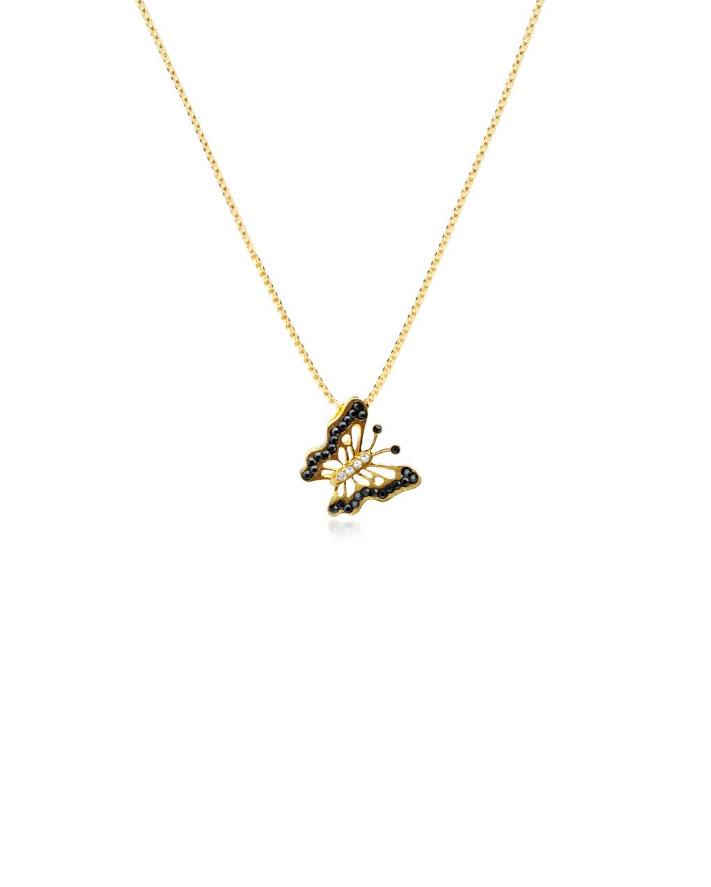 Mariposa Butterfly Necklace