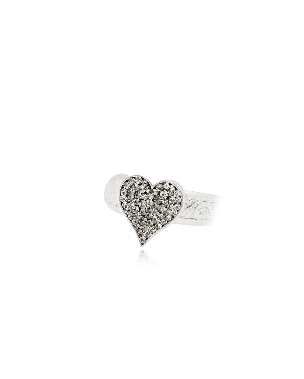 Love Rules Heart Ring
