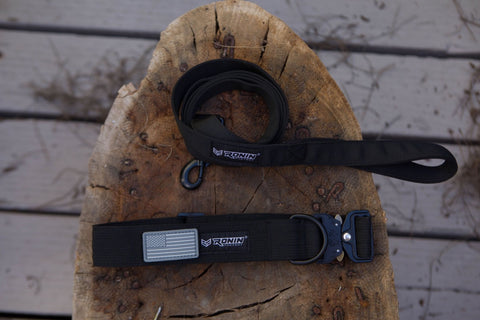DOG COLLAR & LEASH BUNDLE