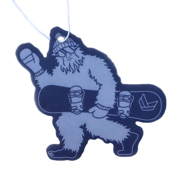 SNOWBOARDING SQUATCH AIR FRESHENER DUO
