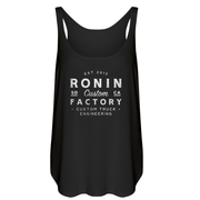 WOMENS RONIN CUSTOM TANK-BLACK