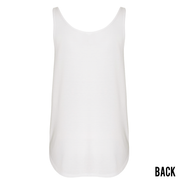 WOMENS RONIN CUSTOM TANK-WHITE