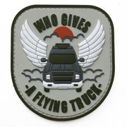 FLYING TRUCK PVC PATCH
