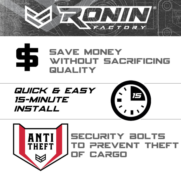 FORD CARGO BED BOXLINK PLATES & CLEATS – Ronin Factory®