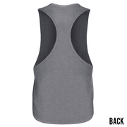 GREY ATHLETIC RACER BACK TANK