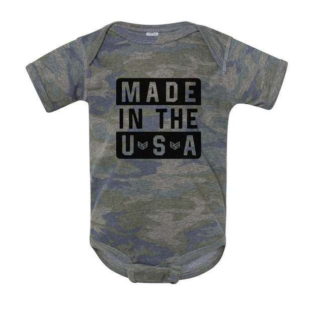 MADE IN THE USA ONESIE