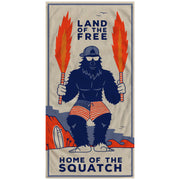 'SQUATCH TOWEL & SUNGLASSES