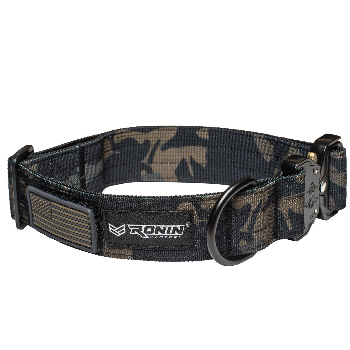 DOG COLLAR - GREEN CAMO