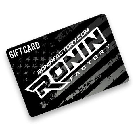 Ronin Factory Gift Card