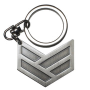 FORGED LOGO METAL KEYCHAIN