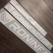 RONIN FACTORY WINDOW DECAL