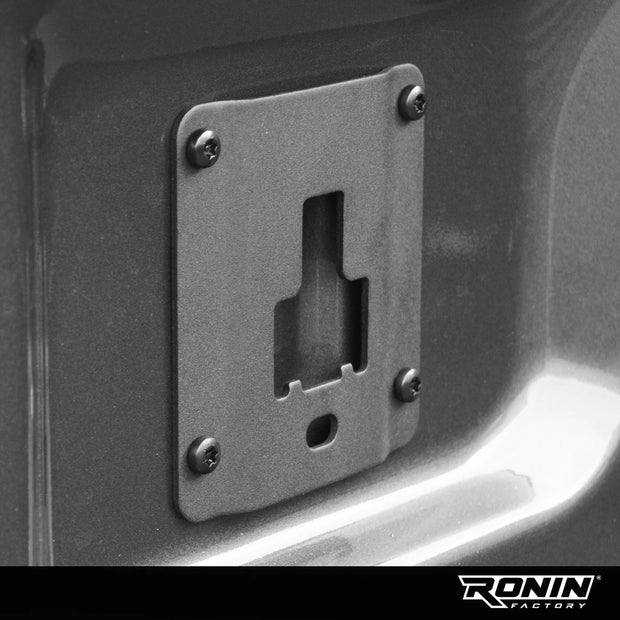 Ronin Factory HC3Z-9928408-AA FL3Z-99000A64-B FL3Z-9928408-AB Ford F150 RAPTOR Locking Interface Bracket Cleat Tie Down Plate