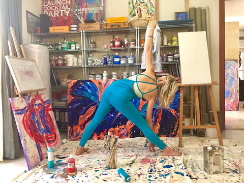 Yoga and Art