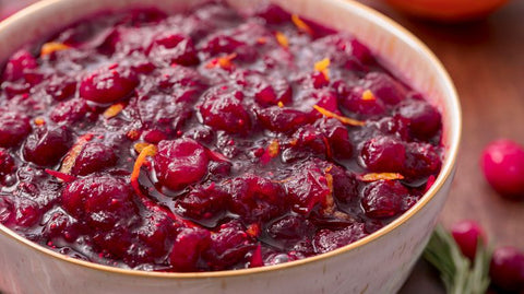 Home made slow cooker cranberry sauce